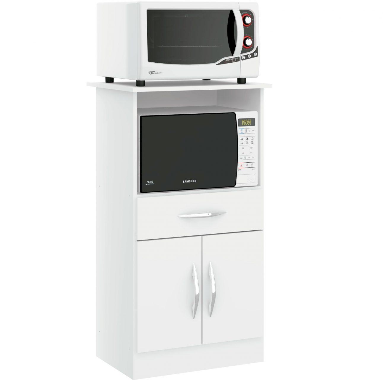 Mueble Cocina Frutero Microondas Multiuso 2 Puertas 509
