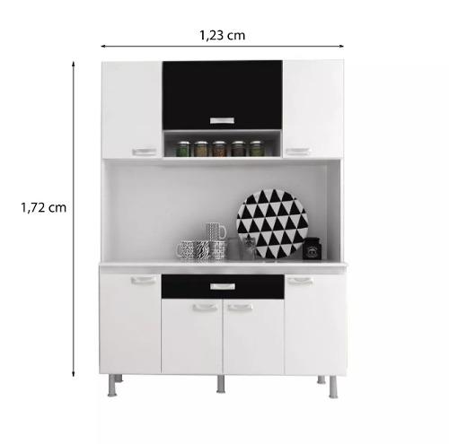 Mueble Cocina Kit Multiuso 7 Puertas 1 Cajon K73 - Muebles Express