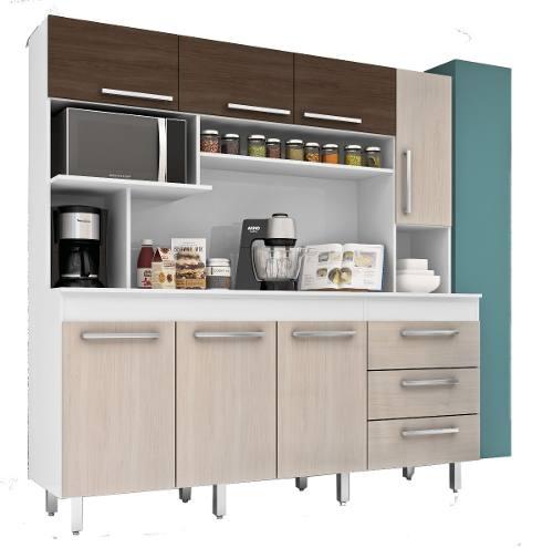 Mueble Cocina Kit Multiuso 7 Puertas Cajones 315 Sin Tapa ...